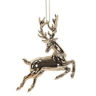 Reindeer Tree 12cm Gold