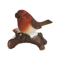 Robin On Log 10.5cm