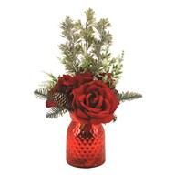 Rose Arrangement Red 47cm