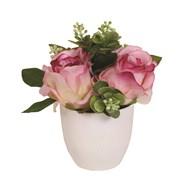 Rose Decorative Pot Pink 20cm