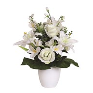 Rose & Lily Arrangement 49cm