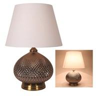 Round Table Lamp Copper 56cm