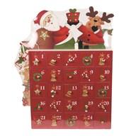 Santa Advent Box 28cm