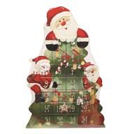 Santa Advent Box 40cm