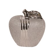 Silver Apple Decoration 13cm