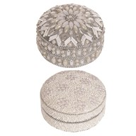 Silver Decor Trinket Box 10cm 2 Assorted