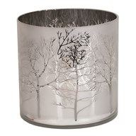 Silver Tree Hurricane 15cm