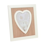 Single Heart Photoframe 23cm
