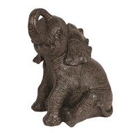 Sitting Elephant 43cm