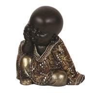 Sitting Monk 17cm