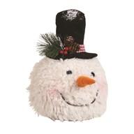 Snowman Head Doorstop 53cm