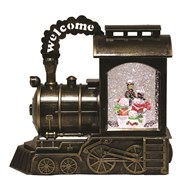 Snowman Train Water Spinner