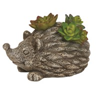 Solar Powered Decorative Garden Hedgehog 14cm