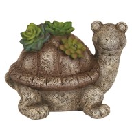 Solar Powered Decorative Garden Tortoise 15cm