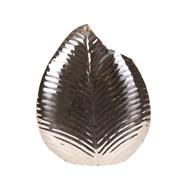 Stainless Steel Leaf Vase 42cm