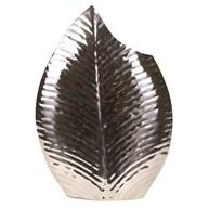 Stainless Steel Leaf Vase 52cm