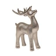 Standing Reindeer Silver 20cm