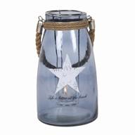 Star Design Hanging Lantern 26cm
