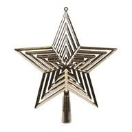 Star Tree Topper 23cm Gold