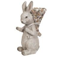 Stone Rabbit Planter 49cm