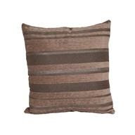 Stripe Cushion Brown 45cm