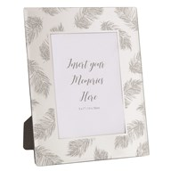Photoframe Silver Feather 5x7""