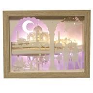 Taj Mahal Light Up Box 23.5 x 18cm