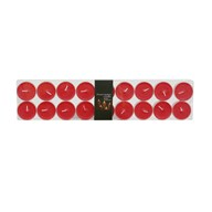 Tealights Red Pack of 18