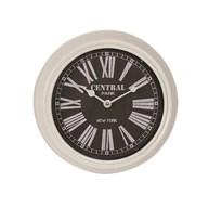White Wall Clock 20cm