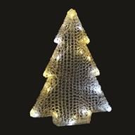 Warm White & Twinkle LED Tree 46cm