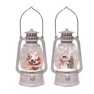 White Lantern Spinner 24cm 2 Assorted