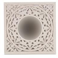 Wooden Decoration Mirror 50cm