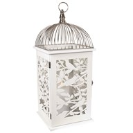 Wooden Decorative White Lantern  47.5cm