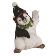Xmas Penguin 17cm