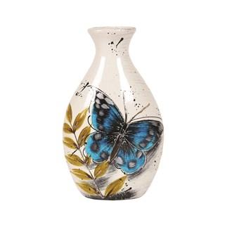 Butterfly Decor Vase 26cm
