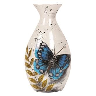 Butterfly Decor Vase 34cm