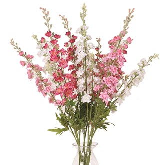 Delphinium Stem 85cm 3 Assorted