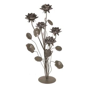Floral Lustre 5 Tealight Holder 68cm
