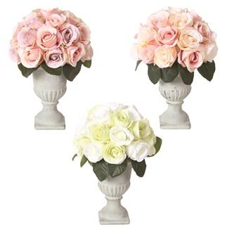 Rose Urn 24cm 3 Assorted