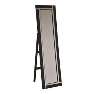 Black Standing Mirror 150x40cm