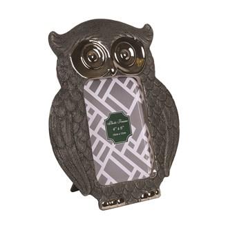 """Owl Decor Photoframe 4 x 6"""""""