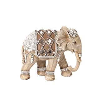 Decorative Elephant Brown 14cm