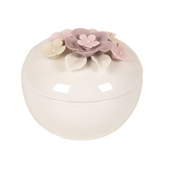 Porcelain Trinket Box 8cm
