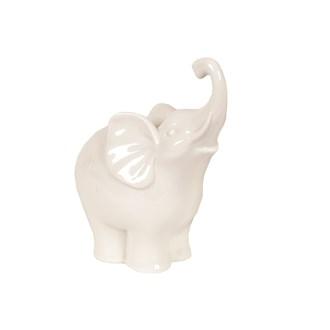 Trunk Up Elephant 15cm