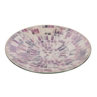Purple Mosaic Bowl 31cm