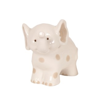 Porcelain Elephant 12cm