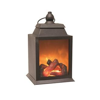 Living Flame LED Lantern 26cm