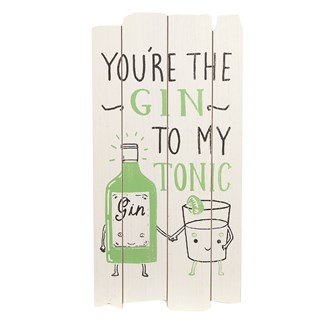 Gin To My Tonic 25x49cm