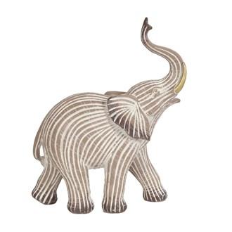 Striped Elephant 28cm