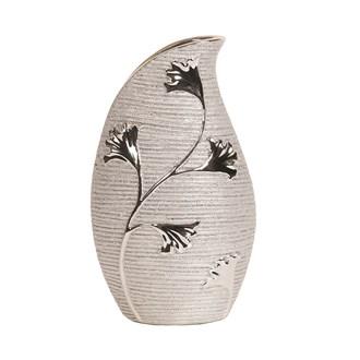 Champagne Floral Vase 26cm